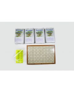 Flourescent Green 12-pc Macaron Kit